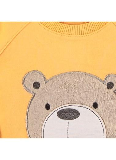 Civil Baby Civil Baby Penye Sweatshirt 6-18 Ay Hardal Civil Baby Penye Sweatshirt 6-18 Ay Hardal Hardal